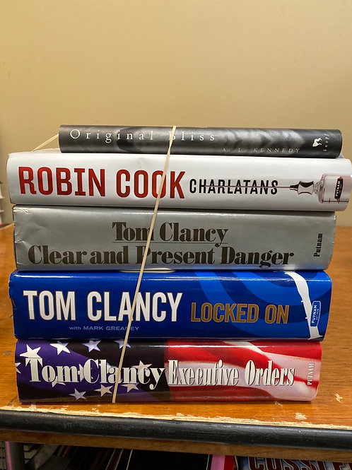 Fiction - Kennedy, Cook, Clancy