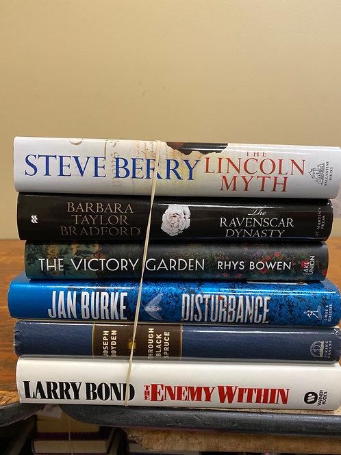 Fiction - Berry, Bradford, Bowen, Burke, Bond, Boyden