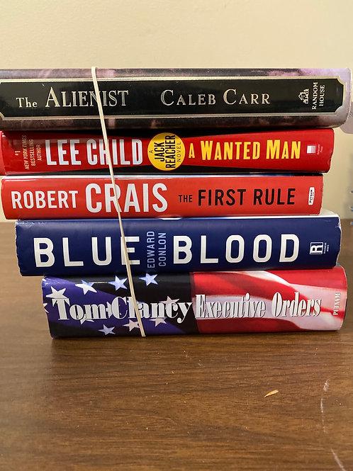 Fiction - Carr, Child, Crais, Conlon, Clancy