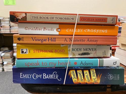 Fiction - Ahern, Brooks, Ansay, Adams, Bond, Barker