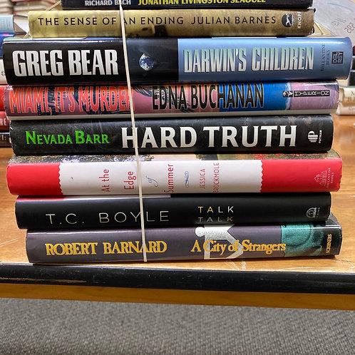 Fiction - Barnes, Barr, Boyle, Barnard, Brockmole, Buchanan, Bear, Bach