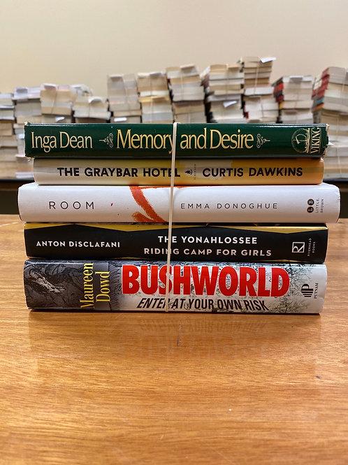 Fiction - Dean, Dawkins, Donoghue, DiSclafani, Dowd