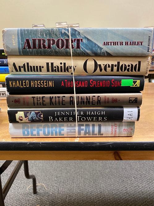 Fiction - Hailey, Hosseini, Haigh, Hawley