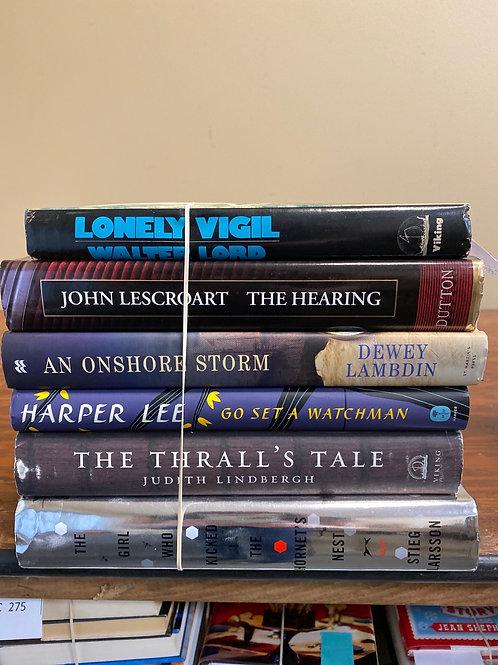 Fiction - Lord, Lee, Lescroart, Lambdin, Lindbergh, Larsson
