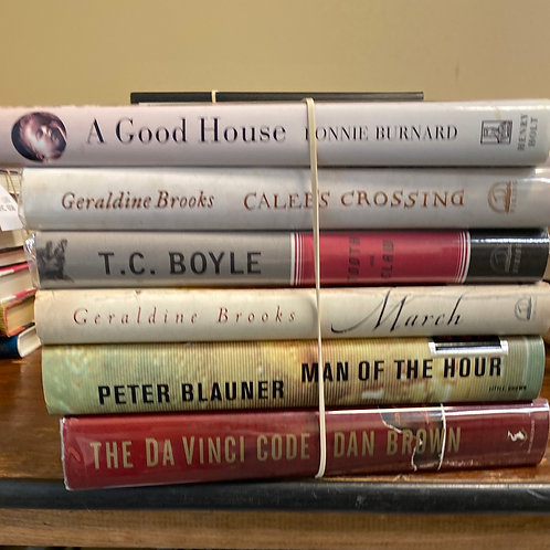 Fiction - Brown, Boyle, Burnard, Brooks, Blauner