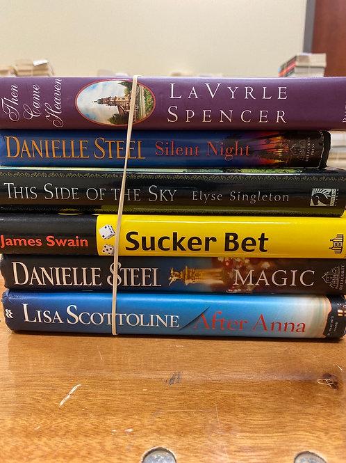 Fiction - Scottoline, Steel, Swain, Singleton, Spencer