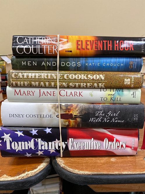 Fiction - Coulter, Crouch, Cookson, Clark, Costeloe, Clancy