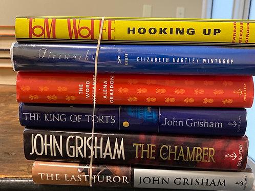 Fiction - Wolfe, Winthrop, Graedon, Grisham