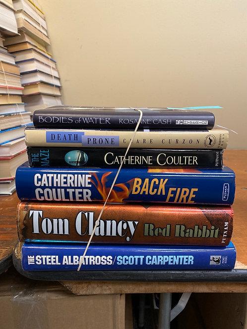 Fiction - Cash, Curzon, Coulter, Clancy, Carpenter