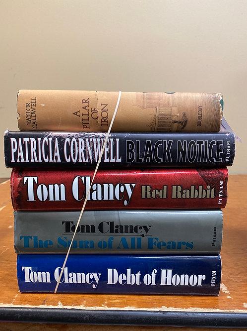 Fiction - Clancy, Cornwell, Caldwell