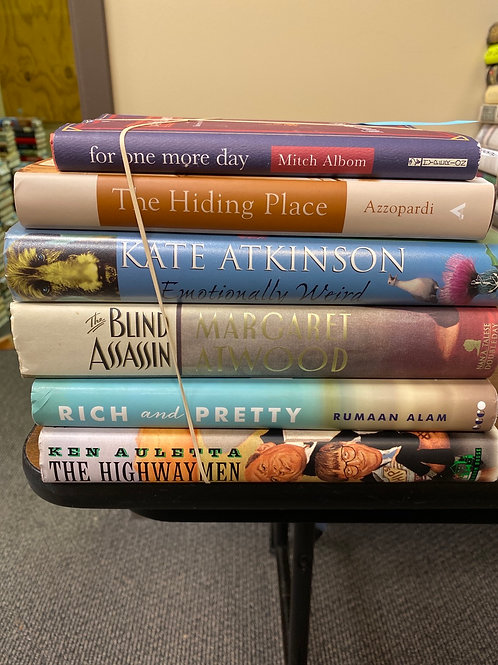 Mixed Fiction - incl. Atwood & Albom