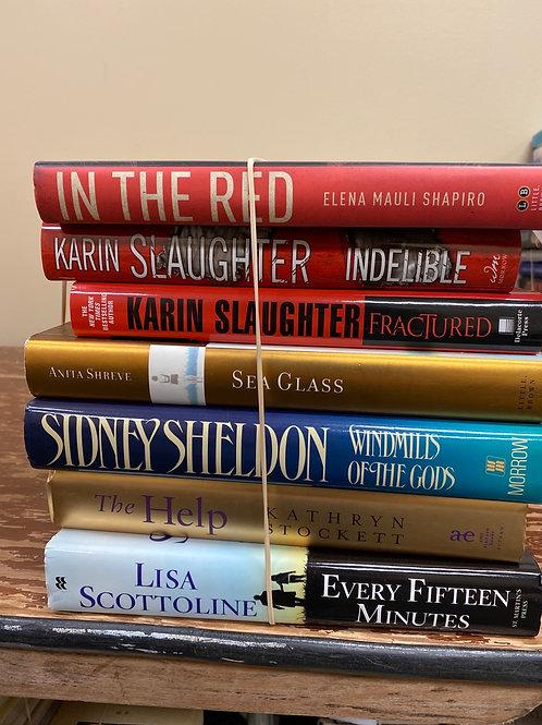 Fiction - Shapiro, Slaughter, Shreve, Sheldon, Stockett, Scottoline