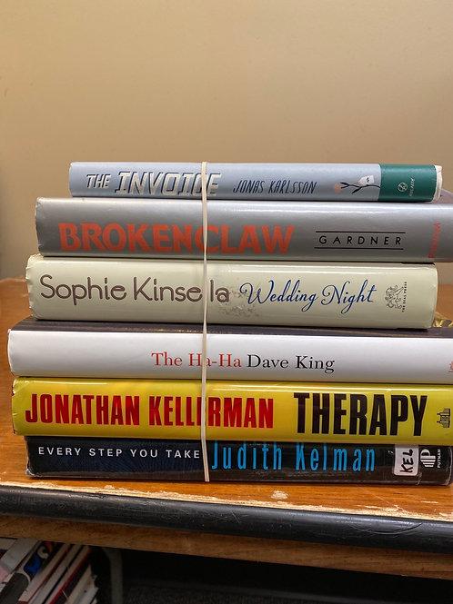 Fiction - Karlson, Gardner, Kinsella, King, Kellerman, Kelman