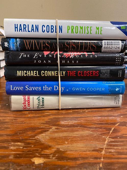 Fiction - Coben, Chase, Connelly, Cooper, Condor, Collins