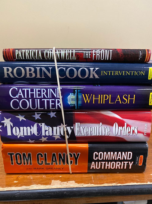 Fiction - Clancy, Coulter, Cook, Cornwell