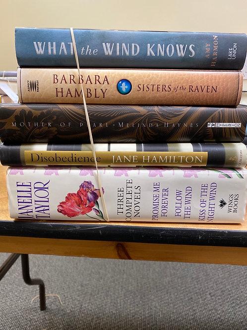 Fiction - Harmon, Hambly, Haynes, Hamilton, Taylor