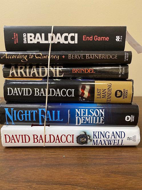 Fiction - Baldacci, DeMille, Brindel, Bainbridge