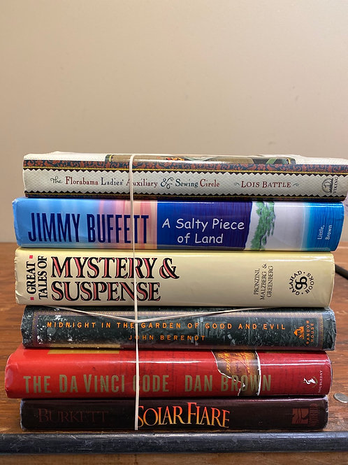 Fiction - Burkett, Buffett, Dan Brown, Berendt, Battle
