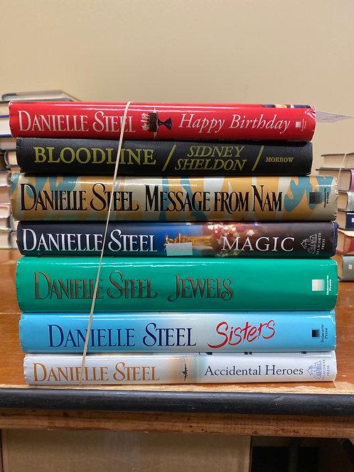 Fiction - Danielle Steel & Sidney Sheldon
