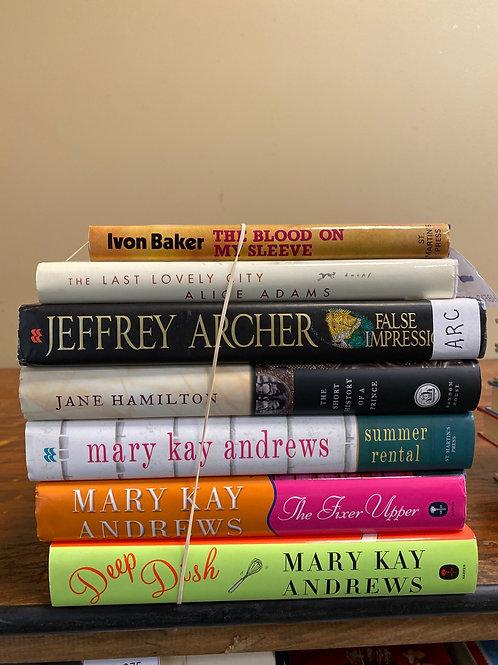 Fiction - Baker, Adams, Archer, Andrews, Hamilton