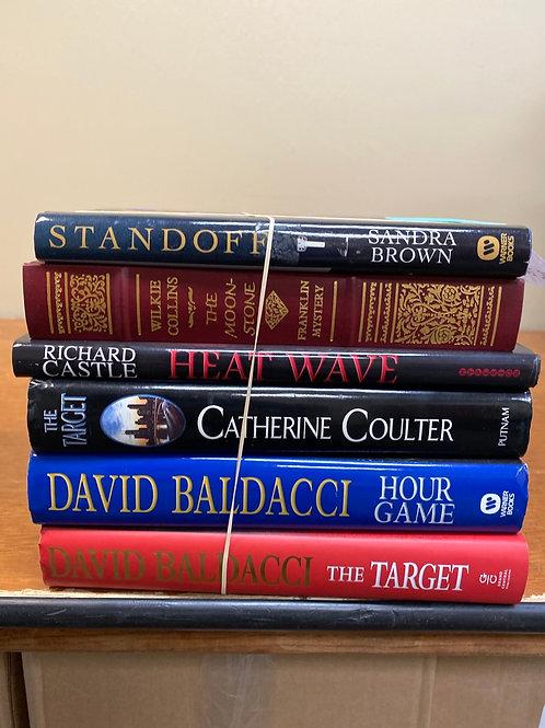 Fiction - Collins, Baldacci, Brown, Coulter, Castle