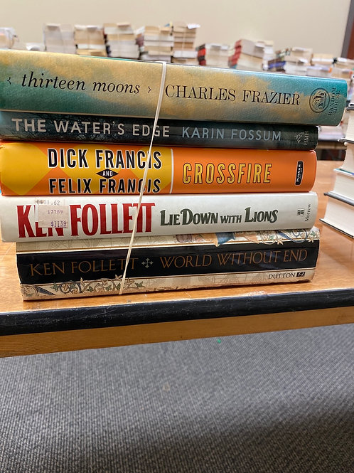 Fiction - Fossom, Follett, Francis, Frazier