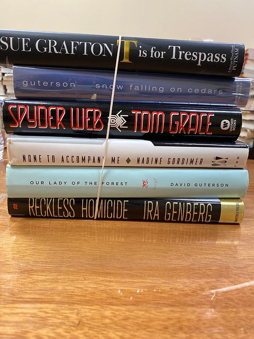 Fiction - Gordimer, Grace, Genberg, Guterson, Grafton