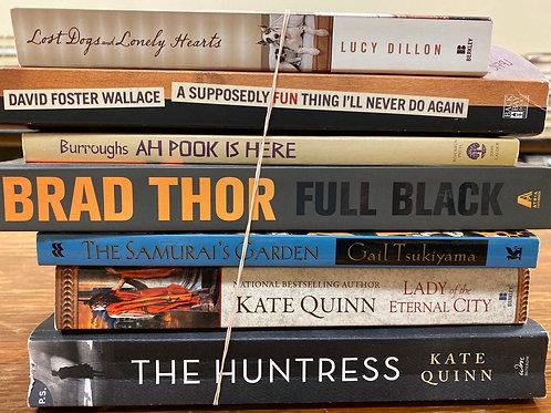 Burroughs, Thor, Tsukiyama, Quinn, Foster Wallace, Dillon