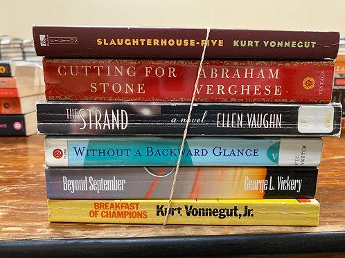 Vonnegut, Vickery, Vaughn, Verghese