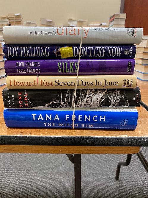 Fiction - French, Flynn, Francis, Fast, Fielding