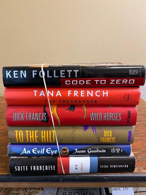 Fiction - Follett, French, Francis, Goodwin, Nemirovsky