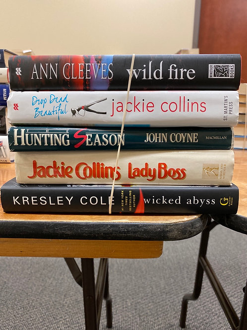 Fiction - Cleeves, Collins, Cole, Coyne