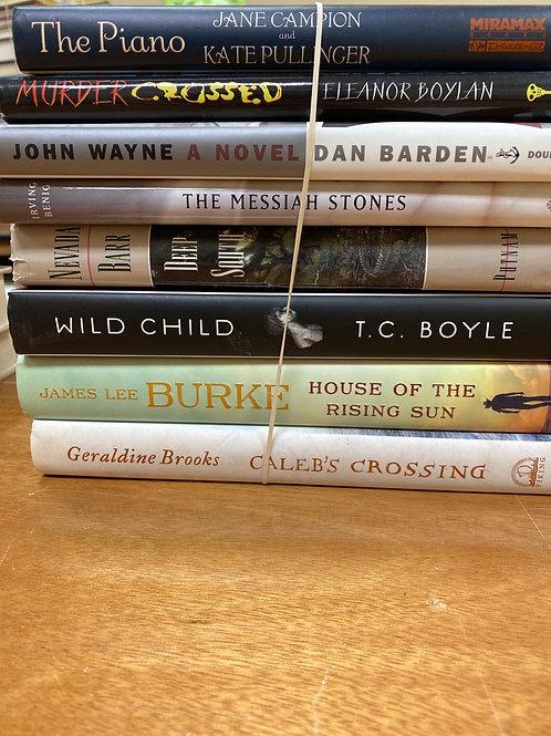 Fiction - Barden, Campion, Boylan, Being, Boyle, Barr, Burke, Brooks
