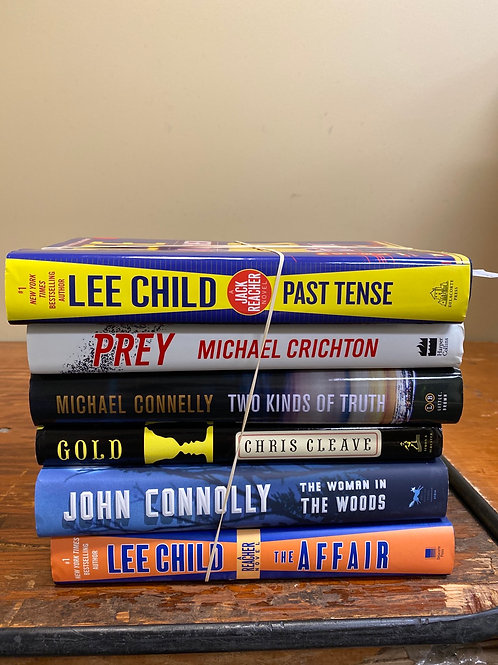 Fiction - Crichton, Connelly, Connolly, Child, Cleave