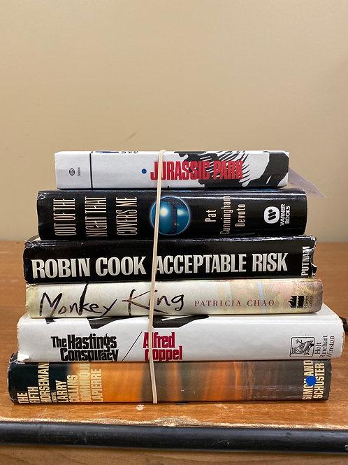Fiction - Crichton, DeVoto, Cook, Chao, Coppel, Collins