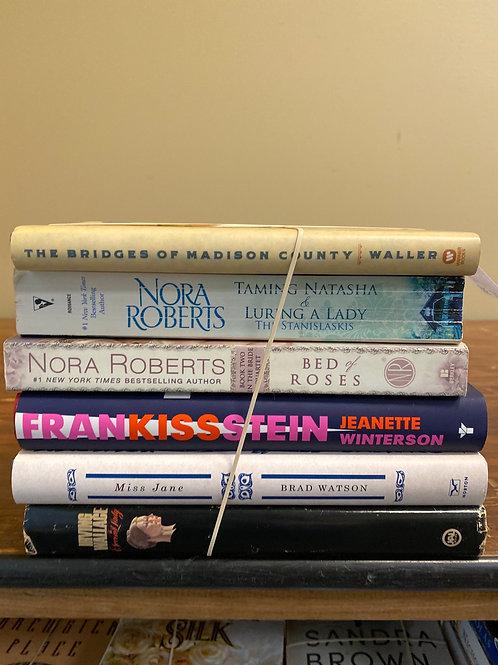 Fiction - Waller, Roberts, Winterson, Watson, Wallace