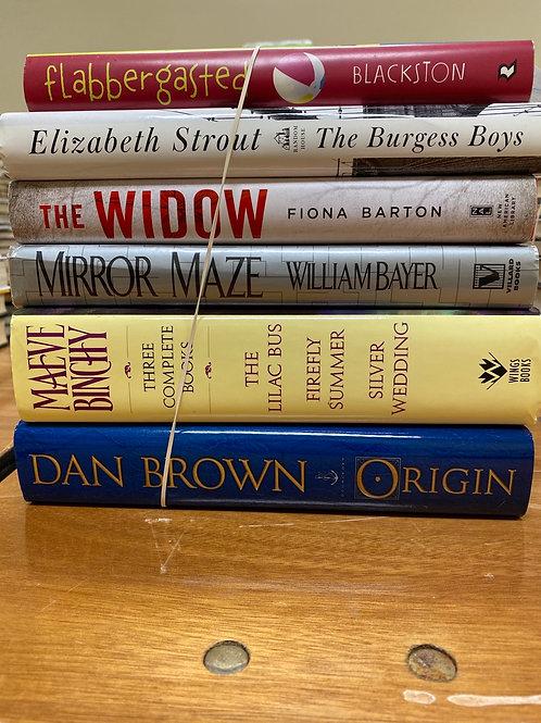 Fiction - Blackstone, Brown, Binchy, Strout, Barton, Bayer