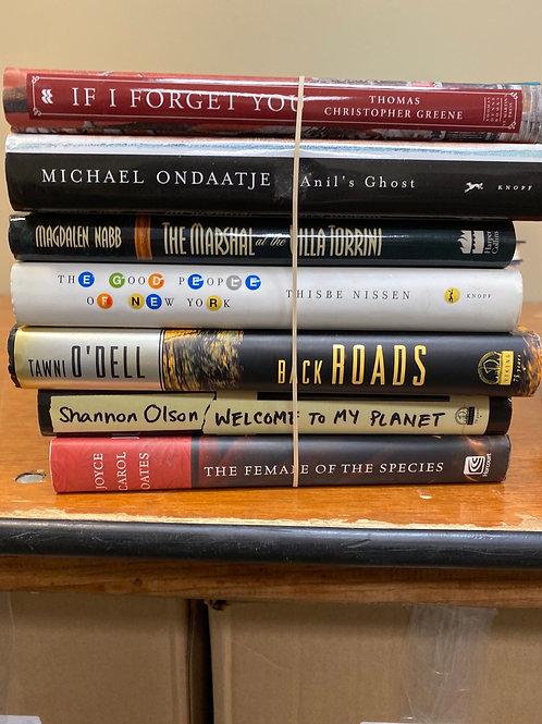 Fiction - Olson, Ondaatje, Greene, Nissen, O'Dell, Joyce Carol Oates