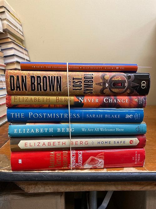 Mixed Fiction - incl. Elizabeth Berg, Dan Brown, & Sarah Blake
