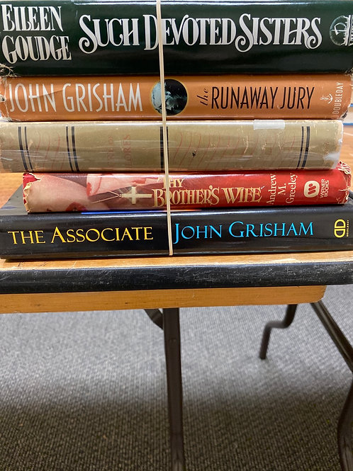 Fiction - Goudge, Grisham, Greeley, Gorman