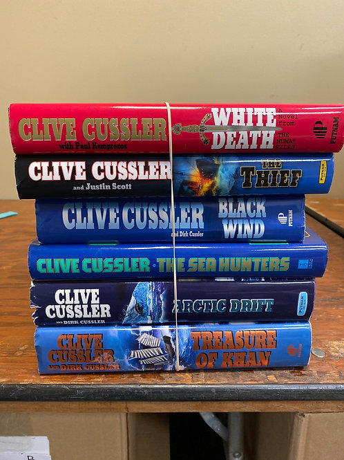 Fiction - Clive Cussler