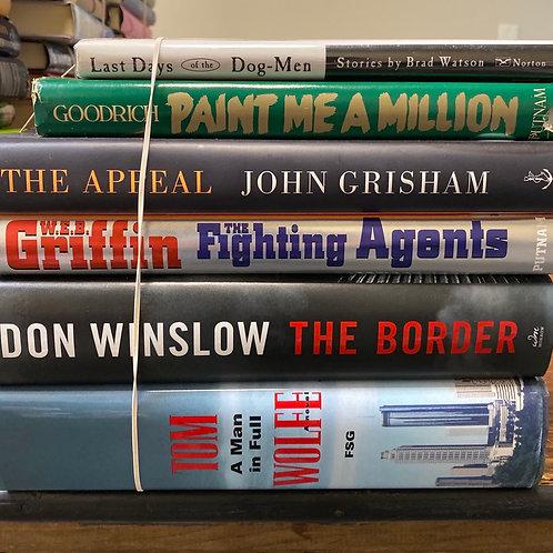 Fiction - Watson, Goodrich, Grisham, Griffin, Winslow, Wolfe