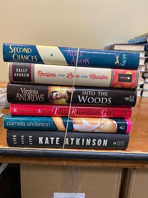 Fiction - Adams, Sally Andrew, Virginia Andrews, Kingsley, Anderson, Atkinson