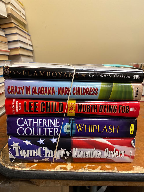 Fiction - Childress, Clancy, Coulter, Carlson