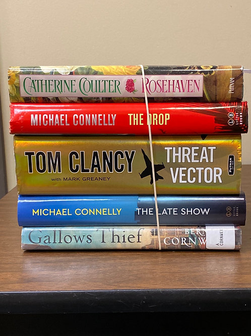 Fiction - Connelly, Clancy, Coulter, Cornwell
