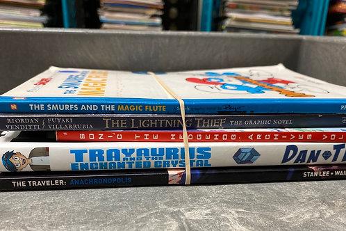 Anime, Comics, Graphic Novels