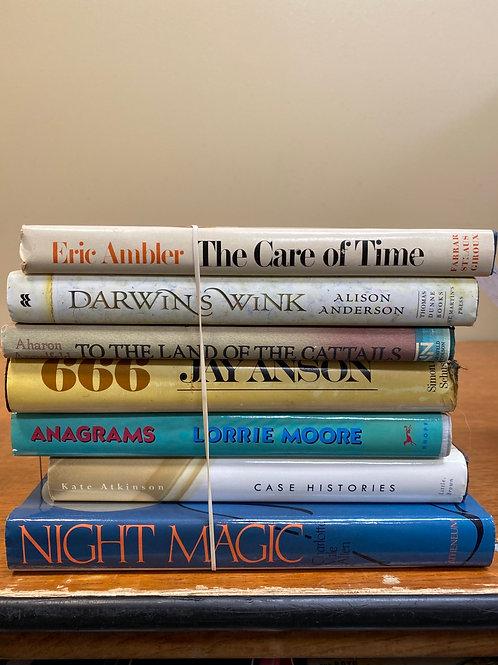 Fiction - Moore, Ambler, Anderson, Anson, Atkinson, Allen