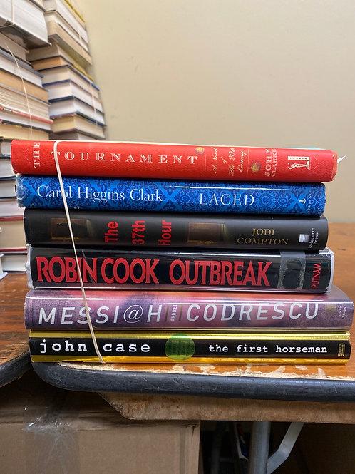 Fiction - Clarke, Higgins Clark, Compton, Putnam, Codrescu, Case