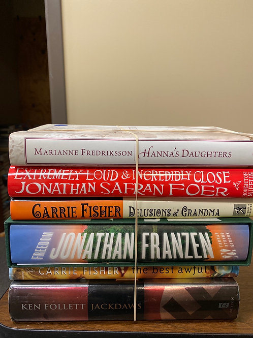 Fiction - Fredriksson, Foer, Fisher, Franzen, Follett