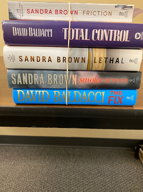Fiction - Sandra Brown & David Baldacci